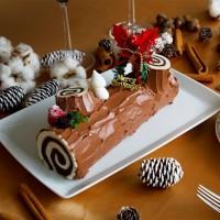 【Bûche de Noël】耶誕限定樹榆蛋糕