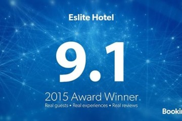 【獲獎】Booking.com 2015年住客評分卓越獎得主