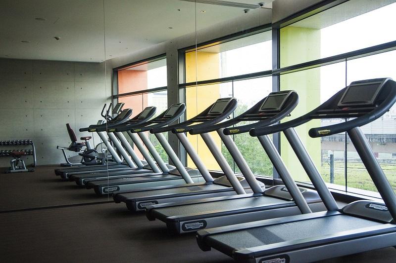 擁有完善機能的健身房,將疲憊身心再次喚醒